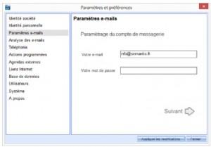 compatibilité email VP3
