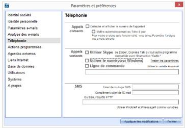 compatibilite téléphonie VP3