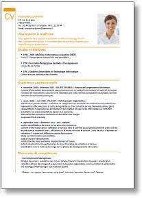 cv exemple mise en page modele cv mise en page   CV Anonyme cv exemple mise en page